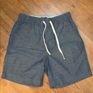 J. Crew Dock Shorts Chambray Size XS